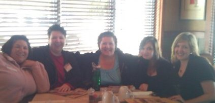 lunch with lynn terry and the girls